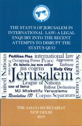 The Status of Jerusalem in International Law